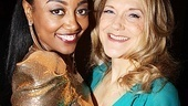 Sister Act Opening Night   Patina Miller  - Victoria Clark 