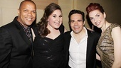 Sister Act Opening Night   Jerry Dixon  Sarah Bolt  Mario Cantone  Marla Mindelle 