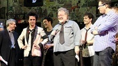 American Idiot producer Ira Pittelman, Billie Joe Armstrong, producer Tom Hulce and director Michael Mayer step out to announce that the show's national tour will kick off in Toronto. 
