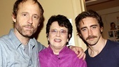 Billie Jean King at The Normal Heart –John Benjamin Hickey – Billie Jean King – Lee Pace