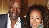 House of Blue Leaves Opening Night  Tamara Tunie  Gregory Generet