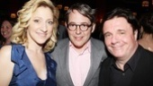 House of Blue Leaves Opening Night  Edie Falco  Matthew Broderick  Nathan Lane