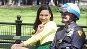 Glee Central Park - Naya Rivera