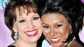 Look at those smiles! Beth Leavel and Christina Sajous are radiant on opening night.