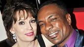 Beth Leavel and her onstage love, Allan Louis, are ready to celebrate.