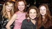 The Normal Heart Opening Night  Alex  Julie White  Tovah Feldshuh  Amanda Claire Levy