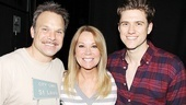 Kathie Lee Gifford at Catch Me If You Can  Norbert Leo Butz  Kathie Lee Gifford  Aaron Tveit