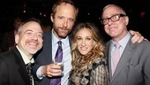 The Normal Heart Opening Night  Mark Shaiman  John Benjamin Hickey  Sarah Jessica Parker  Scott Wittman