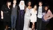 Say hello to the all-star lineup of Ashley Fink, Chris Colfer, Victoria Clark, Patina Miller, Lea Michele, Theo Stockman and Amber Riley.