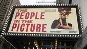 The People in the Picture Opening Night – marquee