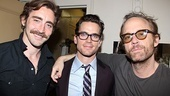Celebrities at The Normal Heart –Lee Pace – Matthew Bomer – John Benjamin Hickey
