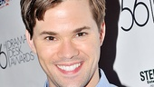Drama Desk Awards Cocktail Reception  Andrew Rannells 