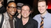It's been a Kushner season for director Michael Greif, who is sandwiched by two stars of his off-Broadway revival of Angels in America, Billy Porter and Bill Heck.