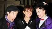 Mary Poppins stars Gavin Lee and Ashley Brown show off Maya Rudolph's baby bump. If Maya ever needs a