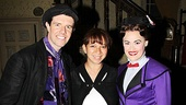 It's always a jolly holiday for Gavin Lee and Ashley Brown at Mary Poppins, but celebrity guests like Maya Rudolph make the performance even more exciting.