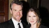 MTC 2011 Spring Gala  Tate Donovan  Lily Rabe 