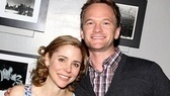 Lovely Catch Me leading lady Kerry Butler lights up in a photo with Neil Patrick Harris.