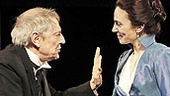 John Cullum and Annie Parisse in All&#39;s Well That Ends Well.