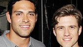 Nancy Sinatra & Mark Sanchez at Catch Me If You Can – Mark Sanchez – Aaron Tveit