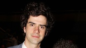 Hey, guys are welcome at the Lilly Awards, too! Here's Hamish Linklater (who gave a smashing performance recently in The School for Lies) and actor/playwright Eric Bogosian.