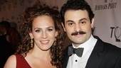 2011 Tony Awards Red Carpet  Arian Moayed - Krissy Shields