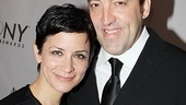 2011 Tony Awards Red Carpet  Anna D. Shapiro - Ian Barford 