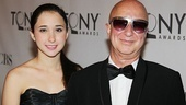 2011 Tony Awards Red Carpet  Paul Shaffer - daughter  