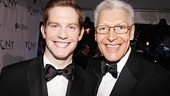Handsome nominees Rory O&#39;Malley (of The Book of Mormon) and Tony Sheldon (of Priscilla Queen of the Desert). 