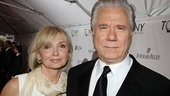 How to Succeed nominee John Larroquette and his wife Elizabeth Ann Cookson.