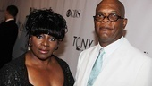 Presenter Samuel L. Jackson and his wife LaTanya Richardson.