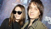 Spider-Man opening  Julian Casablancas-  wife Juliet 