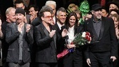Spider-Man opening  Bono  Taymor  stage