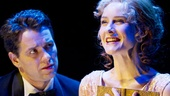 Julian Ovenden as Prince Sirki and Jill Paice as Grazia in Death Takes a Holiday.