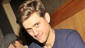 In parting, Aaron Tveit gives us a naughty look worthy of Frank Abagnale Jr. It was a fun celebration of a fabulous CD.