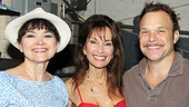 Susan Lucci gets between Catch Me's Linda Hart and Norbert Leo Butz.