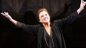 Brava! Tyne Daly soaks in her opening night applause as opera diva Maria Callas.