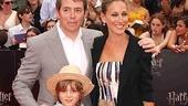 Harry Potter NYC Premiere  Matthew Broderick  Sarah Jessica Parker  James Wilkie Broderick