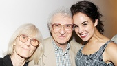 Zoe Caldwell and Audra McDonald at Master Class – Sheldon Harnick – Margery Gray – Alexandra Silber