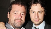 Director Peter DuBois is delighted to work with playwright Zach Braff, whom he directed as an actor in Trust at Second Stage.