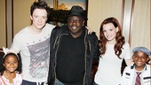 Cedric Spider-Man - Lucky Rose Kyles - Matthe James Thomas - Cedric the Entertainer - Jennifer Damiano - Croix Alexander Kyles