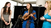 "Allison Case and Kacie Sheik join Kaitlin Kiyan (on ukulele) for a three-part version of ""Somewhere Over the Rainbow."""
