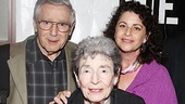 It's a proud night for the late Jonathan Larson's parents Al and Nan, as well as his sister Julie and her son.