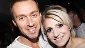 Opening night of &lt;i&gt;Rent&lt;/i&gt; - Andrew Lippa  Annaleigh Ashford 