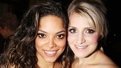 Opening night of &lt;i&gt;Rent&lt;/i&gt; - Arianda Fernandez  Annaleigh Ashford 