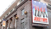 Broadway.com's afternoon with the West End stars of Jersey Boys begins outside the historic Prince Edward Theatre.