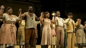 The Porgy and Bess cast steps out hand in hand after a fantastic opening night performance.
