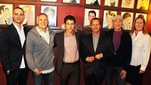 Nick Jonas How to Succeed Announcement  Nick Jonas  Jordan Roth  Craig Zadan  Rob Ashford  Neil Meron  Beth Williams