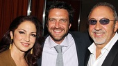 &lt;i&gt;Follies&lt;/i&gt; opening night  Gloria Estefan  Raul Esparza  Emilio Estefan