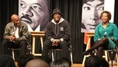 Director Kenny Leon, Samuel L. Jackson and playwright Katori Hall discuss the creative process behind their upcoming Broadway drama The Mountaintop.
