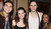 Celebs at Spider-Man  Luke Bilyk  Jenn Damiano  Reeve Carney  Melinda Shankar